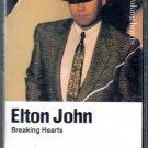 Elton John - Breaking Hearts Cassette Tape