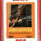 John Denver - Poems, Prayers & Promises 8-track tape