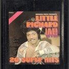 Little Richard - Little Richard Live 20 Super Hits Imperial 8-track tape