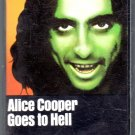 Alice Cooper - Goes To Hell Cassette Tape