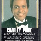 Charley Pride - Greatest Hits Vol 2 Cassette Tape
