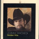Johnny Paycheck - Golden Hits 1983 GUSTO 8-track tape