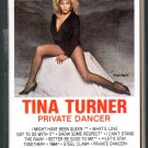 Tina Turner - Private Dancer Cassette Tape
