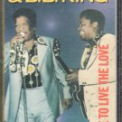 Bobby Bland & B.B. King - I Like To Live The Love Cassette Tape