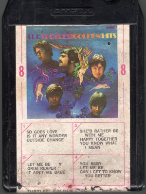 The Turtles - Golden Hits 1967 WHITE WHALE AMPEX 8-track tape