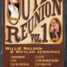 Willie Nelson & Waylon Jennings - Outlaw Reunion Vol 1 Cassette Tape