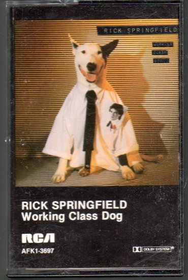 Rick Springfield - Working Class Dog Cassette Tape
