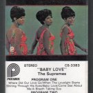 The Supremes - Baby Love Pickwick Cassette Tape