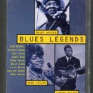 Blues Legends - Various Blues Cassette Tape