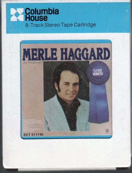Merle Haggard And The Strangers - ELEVEN WINNERS 1978 CRC Sealed 8-track tape