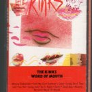The Kinks - Word Of Mouth Cassette Tape