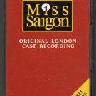 Miss Saigon - Original London Cast Recording Cassette Tape