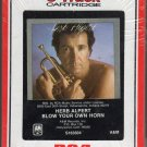 Herb Alpert - Blow Your Own Horn RARE 1983 Sealed RCA 8-track tape