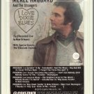 Merle Haggard And The Strangers - I Love Dixie Blues 8-track tape