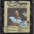 Merle Haggard And The Strangers - Let Me Tell You About A Song 8-track tape