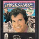Dick Clark - 20 Years Of Rock N' Roll 8-track tape