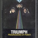 Triumph - Progressions Of Power Cassette Tape