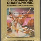 Santana - Illuminations with Alice Coltrane Quadraphonic 8-track tape