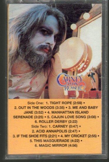 Leon Russell - Carney Cassette Tape
