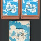 The Music People - 40 Great Artists (ROCK) 2 Tape Columbia RARE Box Set 8-track tape