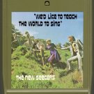 The New Seekers - We'd Like To Teach The World To Sing 8-track tape