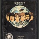Rare Earth - One World 8-track tape