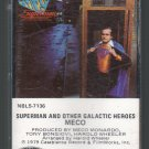 Meco - Superman And Other Galactic Heroes Cassette Tape