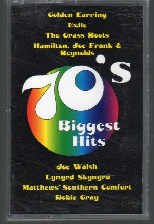 70's Biggest Hits - Various Rock Cassette Tape