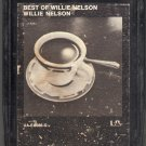 Willie Nelson - Best Of Willie Nelson 8-track tape