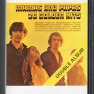 Mamas And Papas - 20 Golden Hits CRC Cassette Tape