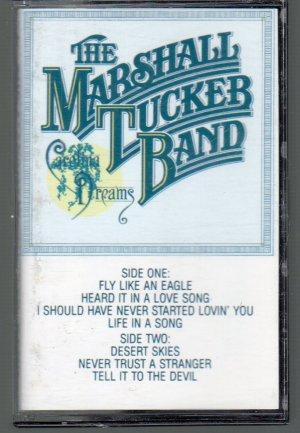 The Marshall Tucker Band - Carolina Dreams Cassette Tape