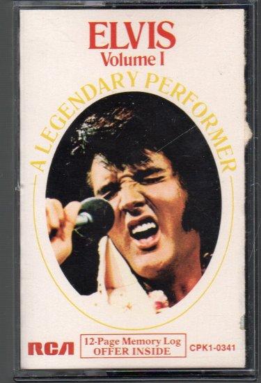 Elvis Presley - A Legendary Performer Vol 1 Cassette Tape