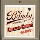 Cheech & Chong - Big Bambu 8-track tape