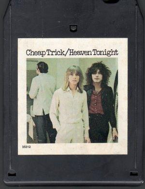 Cheap Trick - Heaven Tonight 8-track tape