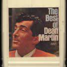 Dean Martin - The Best Of Dean Martin Capitol 1965 RARE 8-track tape