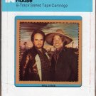 Merle Haggard & Willie Nelson - Poncho & Lefty 1983 CRC 8-track tape