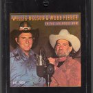 Willie Nelson & Webb Pierce - In The Jailhouse Now 1982 CRC A2 8-track tape