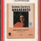 Bobbie Gentry - Greatest ! RCA 8-track tape
