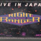 Night Ranger - Live In Japan Cassette Tape