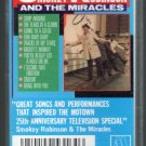 Smokey Robinson And The Miracles - Motown 25th Anniversary Television Special Cassette Tape