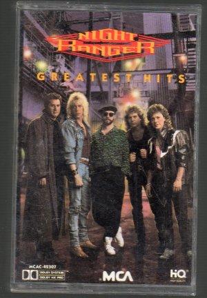 Night Ranger - Greatest Hits Cassette Tape
