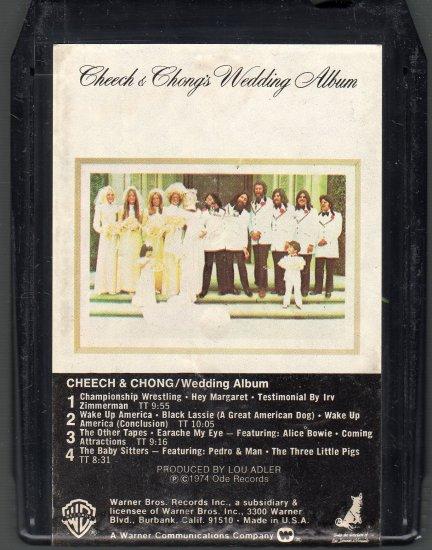 Cheech & Chong - Cheech & Chong's Wedding Album 8-track tape