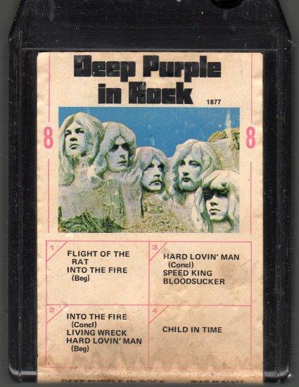 Deep Purple - In Rock 8-track tape