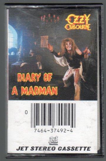 Ozzy Osbourne - Diary Of A Madman Cassette Tape