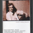 Eddie Money - Can't Hold Back Cassette Tape