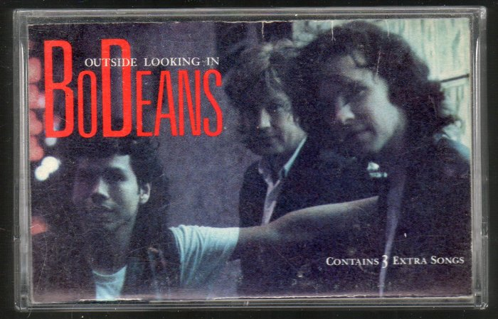 BoDeans - Outside Looking In Cassette Tape