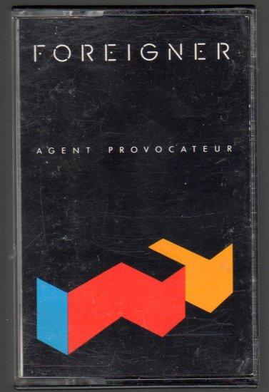 Foreigner - Agent Provocateur Cassette Tape