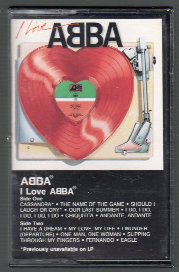 ABBA - I Love Abba Cassette Tape
