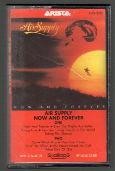 Air Supply - Now And Forever Cassette Tape
