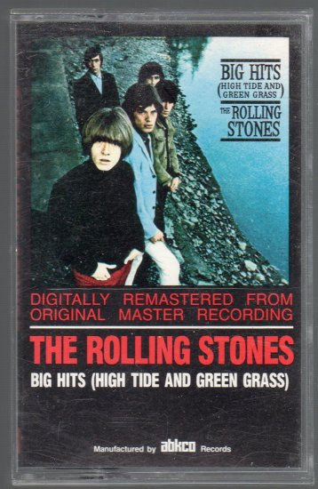 The Rolling Stones - Big Hits ( High Tide And Green Grass ) Cassette Tape